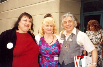 Dallas Denny, Virginia Prince, and Ari Kane, 1st Intl. Congress, 1993