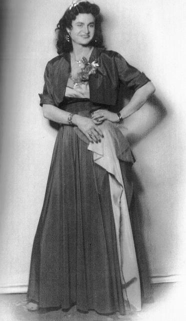 Virginia Prince in 1948.