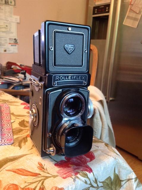 Andrea Susan's Rolleiflex