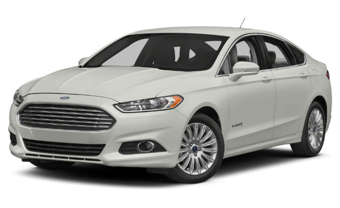 Ford Fusion Hybrid Rental Car