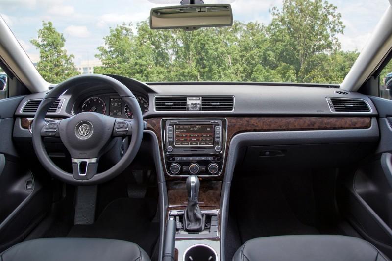 2014 VW Passat Interior