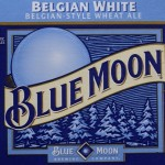 Blue Moon Beer Label
