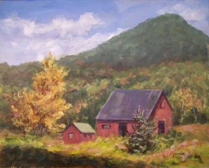 Red_Barn_Off_Platte_Clove_Road_No_3, Jamie Williams Grossman