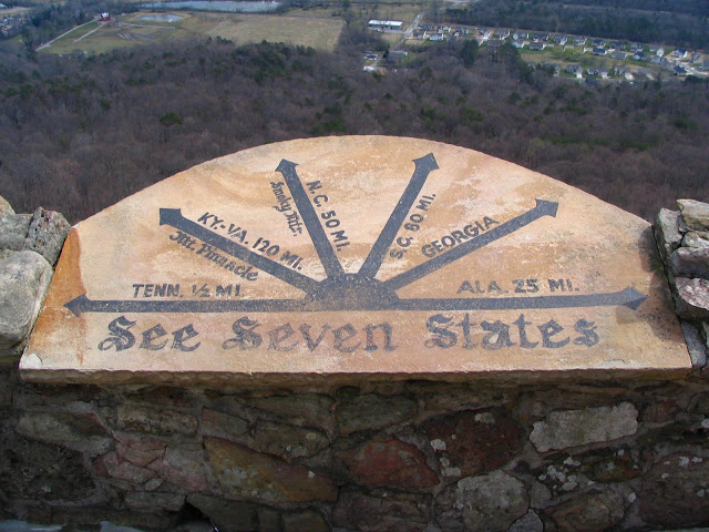 See Seven States from Rock City