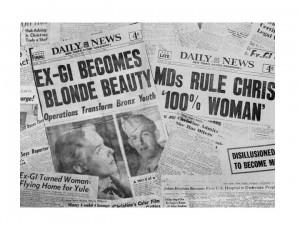 1952 Headlines