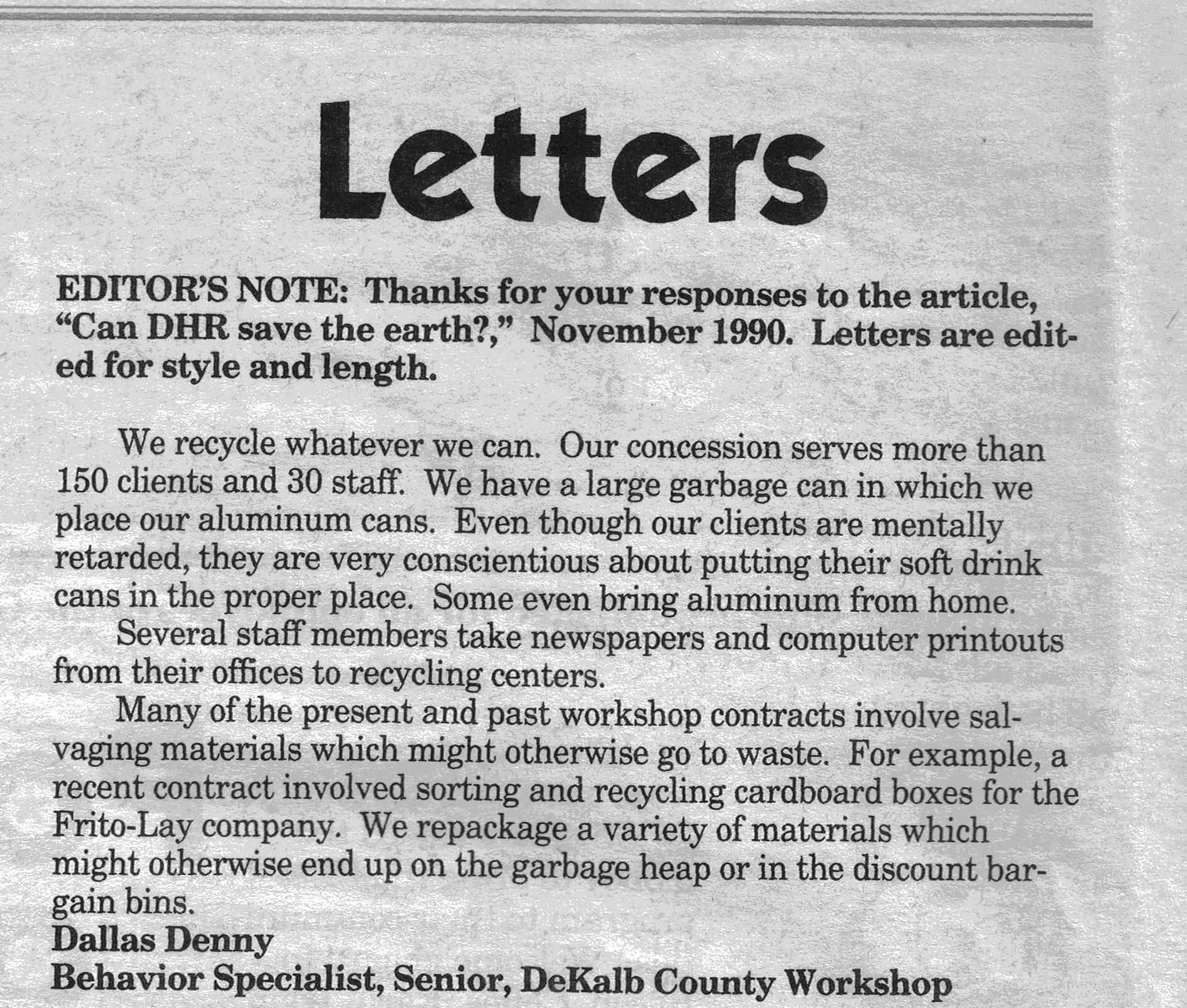 re letter to the editor essay Real estate  state-of-the-art smart home set in north yarmouth countryside  more headlines maine places to love: higgins beach  letter to the editor: shawn moody is driven only by self-interest.