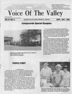 People First, Voice of the Valley, V