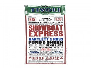 Showboat Express Poster