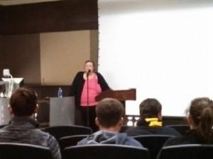 Dallas at University of Missouri, November, 2013