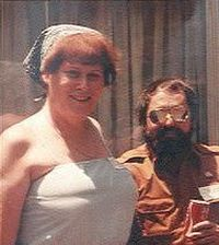 Joanna Clark and Jude Patton, 1982