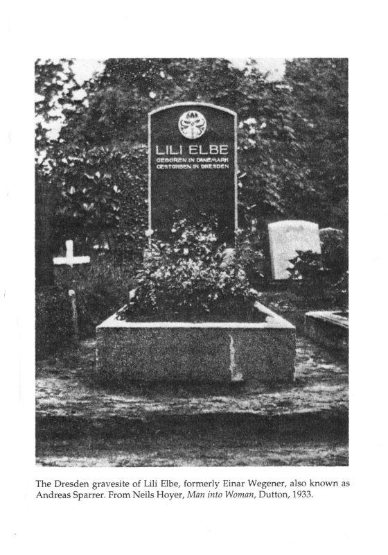Gravesite of Lili Elbe
