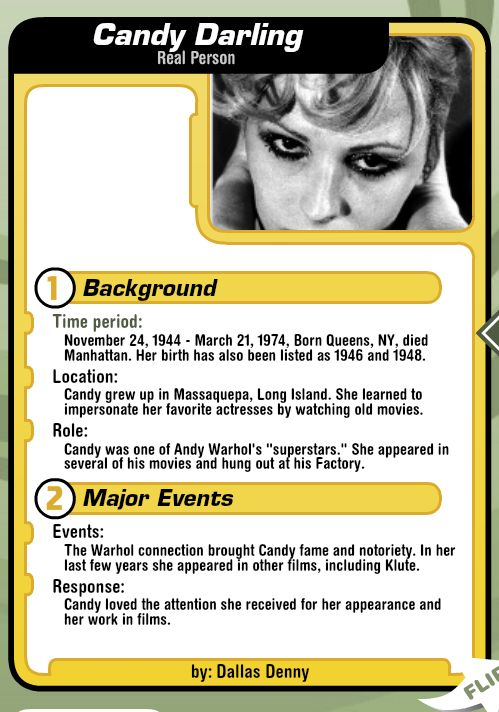 Candy Darling, Side 1