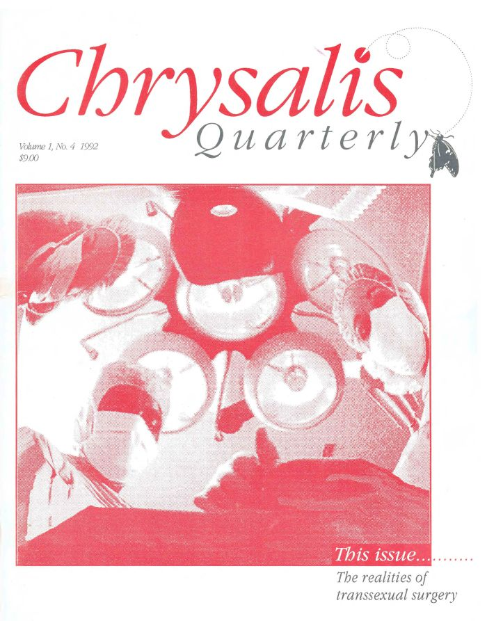 Cover, Chrysalis V. 1, No. 4