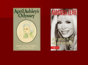 April Ashley and Amanda Lear