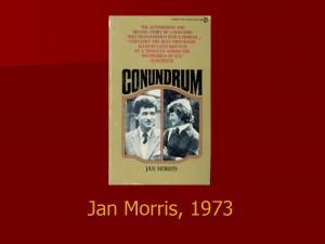 Jan Morris, 1973