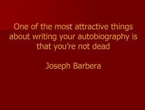 Joseph Barbera Quote
