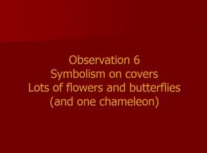 Observation 6