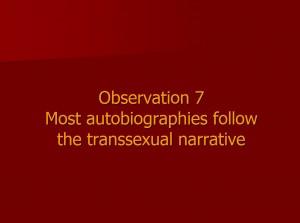 Observation 7