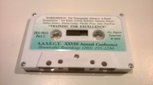 Trans Alliance for Community AASECT Tape
